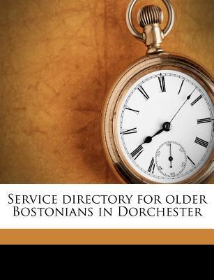Service Directory for Older Bostonians in Dorchester