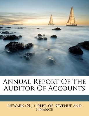 Annual Report of the Auditor of Accounts
