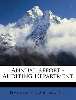 Annual Report - Auditing Department