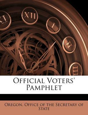 Official Voters' Pamphlet
