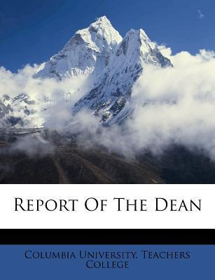 Report of the Dean