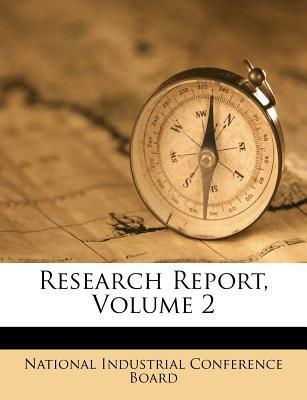 Research Report, Volume 2