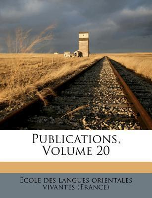 Publications, Volume 20