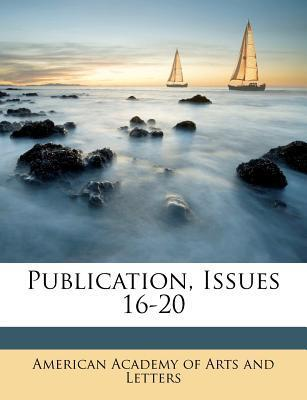 Publication, Issues 16-20