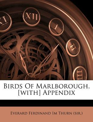 Birds of Marlborough. [With] Appendix