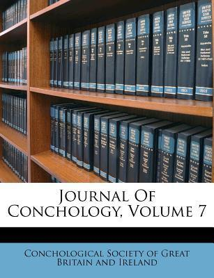 Journal of Conchology, Volume 7