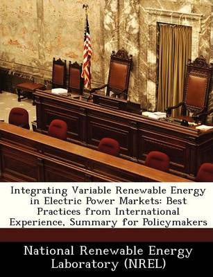 Integrating Variable Renewable Energy in Electric Power Markets