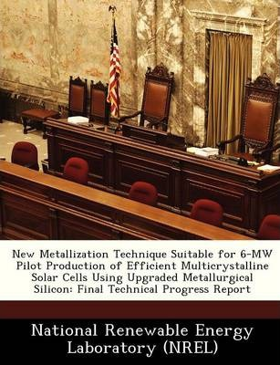 New Metallization Technique Suitable for 6-Mw Pilot Production of Efficient Multicrystalline Solar Cells Using Upgraded Metallurgical Silicon