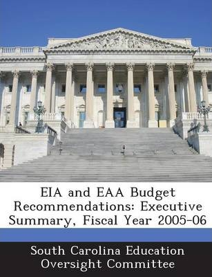 Eia and Eaa Budget Recommendations