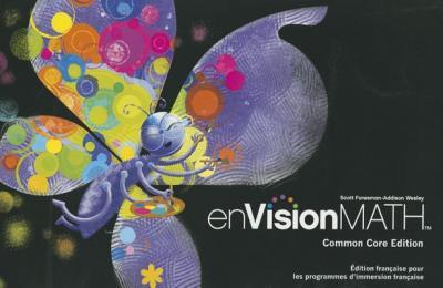 French Envision Math Student Edition Grade 1