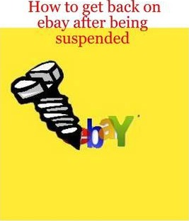 How to Get Back on Ebay After Being Suspended