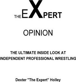 The Expert Opinion: The Ultimate Insider Look At Independent Professional Wrestling