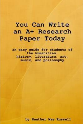 You Can Write an A+ Research Paper Today