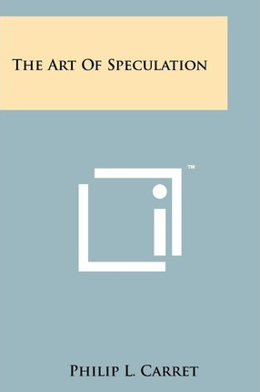 The Art of Speculation