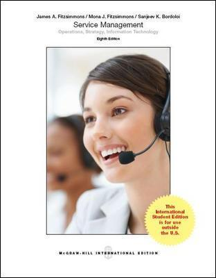 Service Management: Operations, Strategy, Information Technology (Int'l Ed)