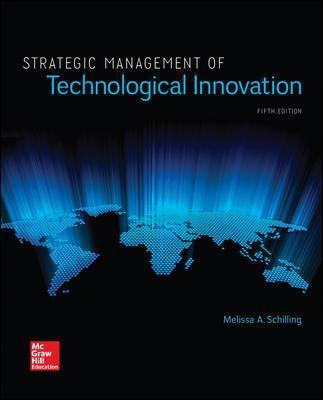 Strategic Management Of Technological Innovation Schilling Pdf