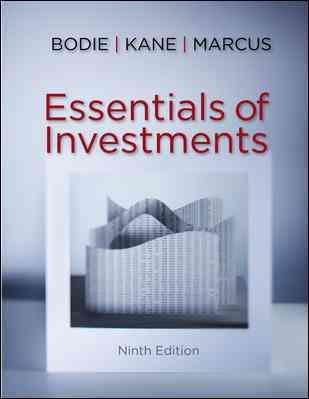 Essentials of Investments with Connect