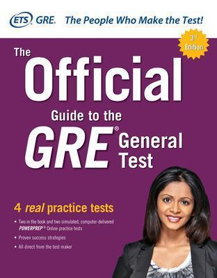 The Official Guide to the GRE General Test, Third Edition Cover Image