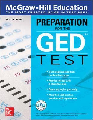 McGraw-Hill Education Preparation for the GED Test, Third Edition