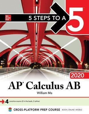 5 Steps to a 5: AP Calculus AB 2020 Cover Image
