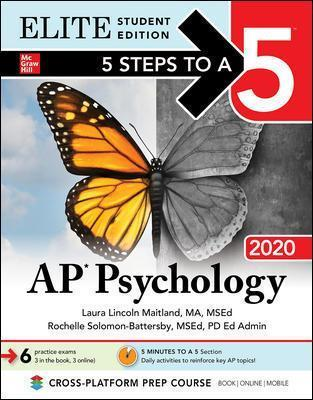 5 Steps to a 5: AP Psychology 2020 Elite Student Edition