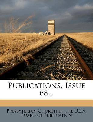 Publications, Issue 68...