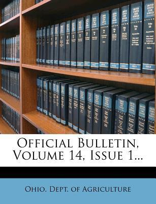 Official Bulletin, Volume 14, Issue 1...