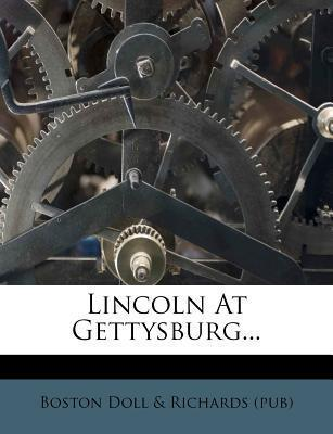Lincoln at Gettysburg...