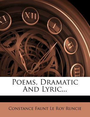 Poems, Dramatic and Lyric...