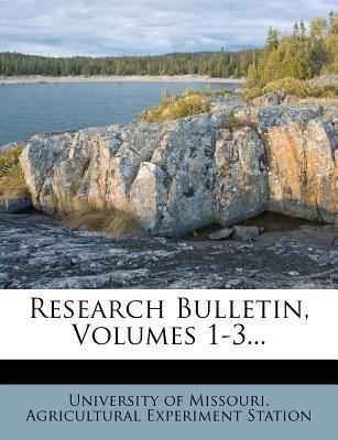 Research Bulletin, Volumes 1-3...