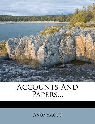 Accounts and Papers...