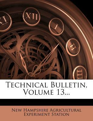 Technical Bulletin, Volume 13...