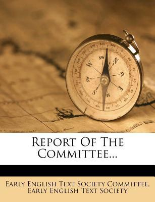Report of the Committee...