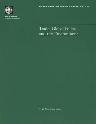 Trade, Global Policy and the Environment