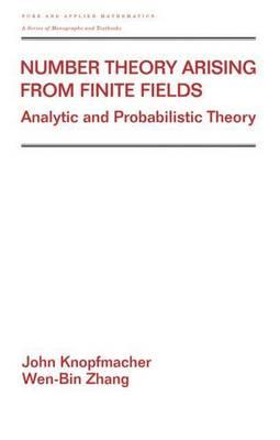 Number Theory Arising from Finite Fields: Analytic and Probabilistic Theory