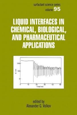 Liquid Interfaces in Chemical, Biological, and Pharmaceutical Applications