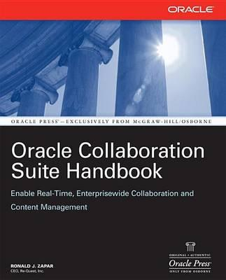 Oracle Collaboration Suite Handbook