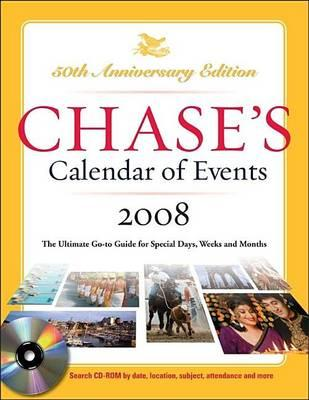 Chase's Calendar of Events 2008