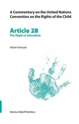 Article 28: The Right to Education