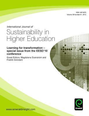 Learning for Transformation Special Issue from the Eesd'10 Conference