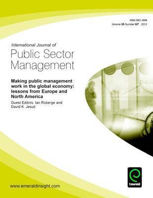 Making Public Management Work in the Global Economy