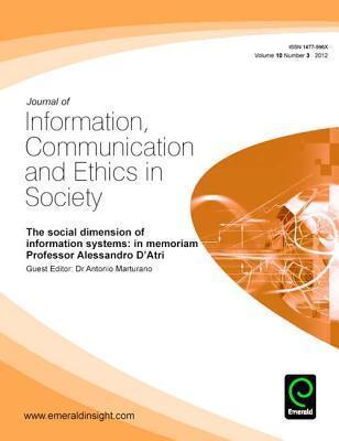 The Social Dimension of Information Systems: In Memoriam Prof. Alessandro D Atri