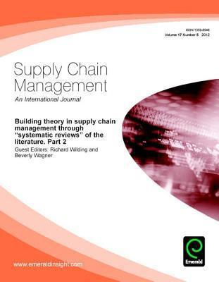 Building Theory in Supply Chain Management Through Systematic Reviews of the Literature Part 2.