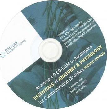 CD-ROM for Seikel/Drumright/Seikel\'s Essentials of Anatomy and ...