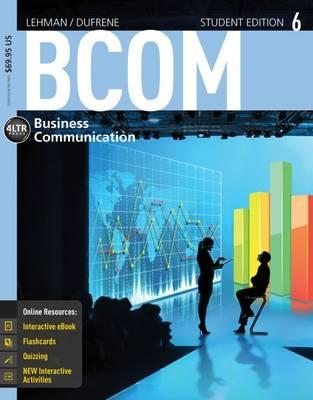 BCOM6 (with CourseMate with Career Transitions 2.0, 1 term (6 months) Printed Access Card)