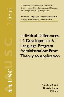 AAUSC 2013 Volume - Issues in Language Program Direction
