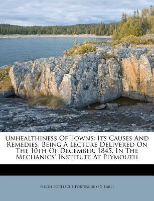 Unhealthiness of Towns