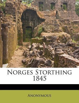 Norges Storthing 1845