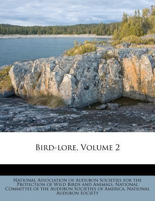 Bird-Lore, Volume 2