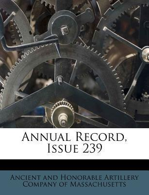 Annual Record, Issue 239